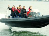 Powerboat varen Zuid-Holland